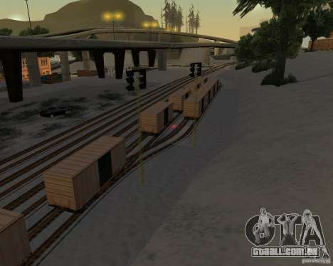 Nova estação ferroviária para GTA San Andreas terceira tela