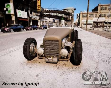 Roadster High Boy para GTA 4 esquerda vista