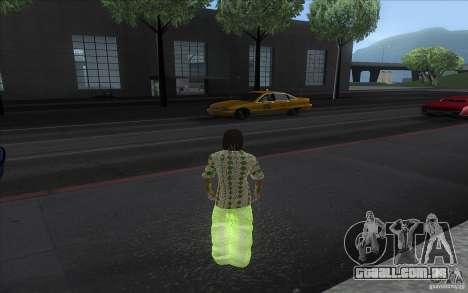Rasta ped para GTA San Andreas segunda tela
