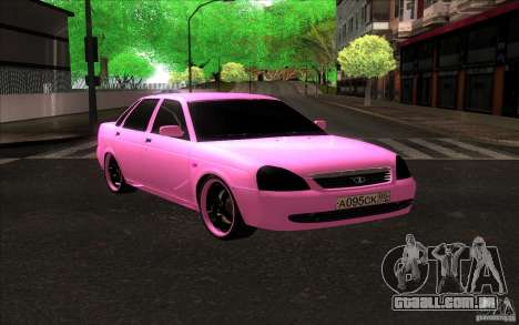 Lada Priora Emo para GTA San Andreas