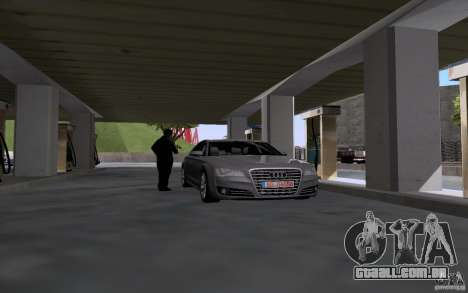 Carro de tanque de gasolina para GTA San Andreas segunda tela