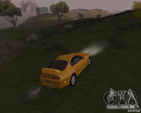 Toyota Supra 3.0 24V para vista lateral GTA San Andreas
