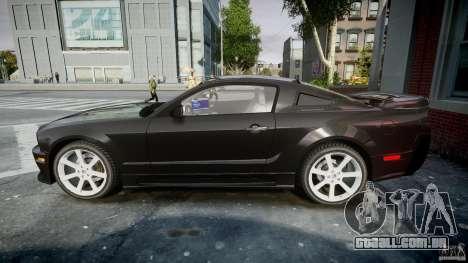 Saleen S281 Extreme Unmarked Police Car - v1.2 para GTA 4 esquerda vista