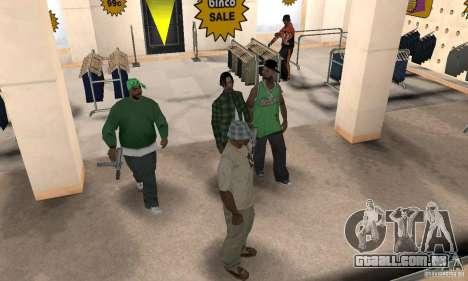 Home inside para GTA San Andreas segunda tela
