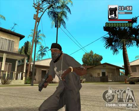 Glock new version para GTA San Andreas segunda tela