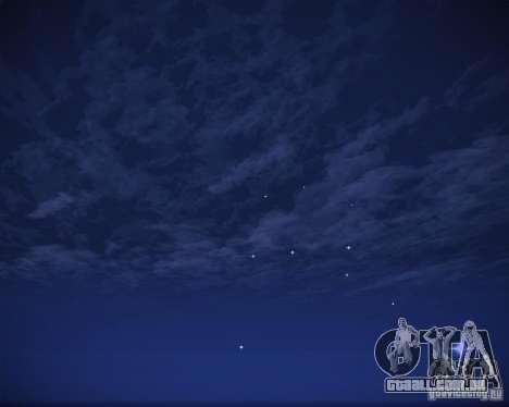 Real Clouds HD para GTA San Andreas nono tela