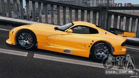 SRT Viper GTS-R 2012 v1.0 para GTA 4 esquerda vista