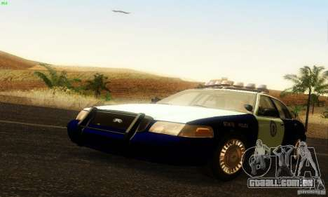 Ford Crown Victoria Masachussttss Police para GTA San Andreas