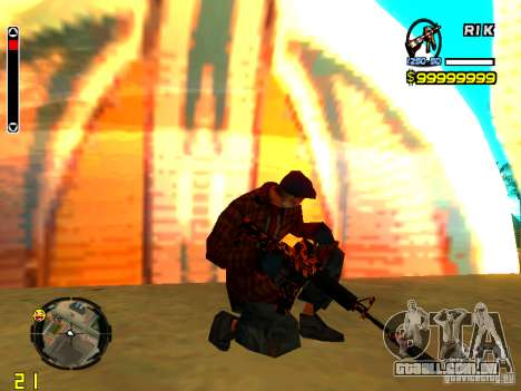 Tiger wepon pack para GTA San Andreas
