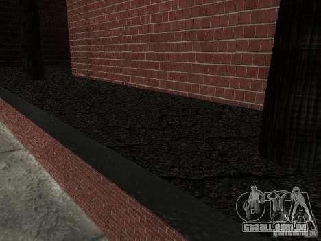 Novo hospital de texturas para GTA San Andreas por diante tela