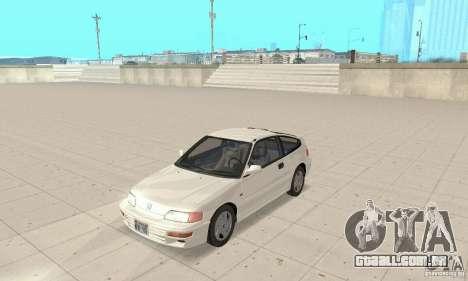 HONDA CRX II 1989-92 para GTA San Andreas