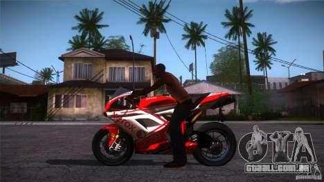 Ducati 1098 para GTA San Andreas esquerda vista