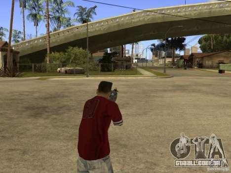 M4 Arma para GTA San Andreas por diante tela