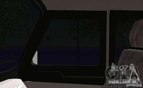 UAZ-31512 polícia para vista lateral GTA San Andreas