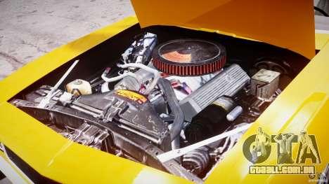 Chevrolet Camaro para GTA 4 vista interior