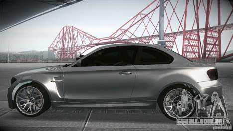 BMW 1M E82 Coupe 2011 V1.0 para GTA San Andreas esquerda vista