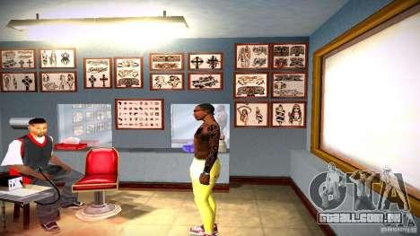 Três nova tatuagem para GTA San Andreas sétima tela