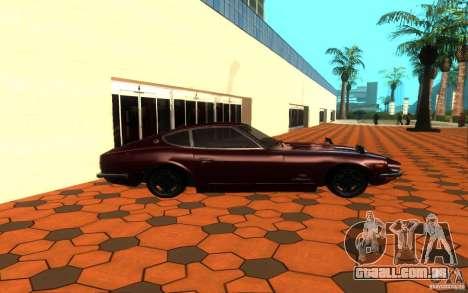 Nissan Fairlady Z 432 para GTA San Andreas esquerda vista