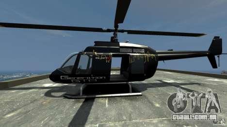 Helicopter Generation-GTA para GTA 4 esquerda vista