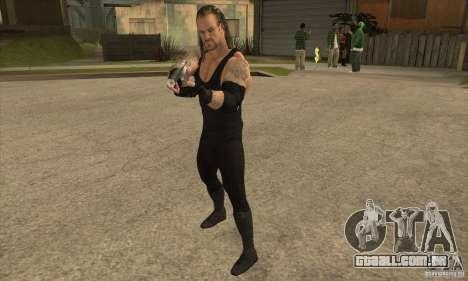 O coveiro da Smackdown 2 para GTA San Andreas segunda tela