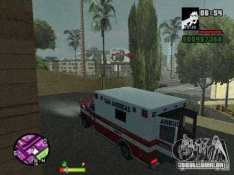 Auto-Repair para GTA San Andreas terceira tela