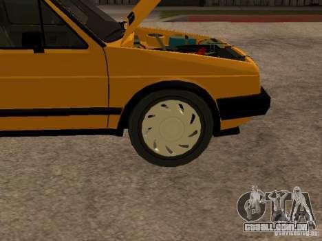 Volkswagen Jetta para GTA San Andreas vista interior