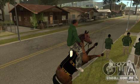 Cavalo para GTA San Andreas quinto tela