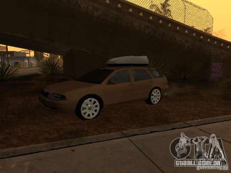 Skoda Octavia para GTA San Andreas esquerda vista