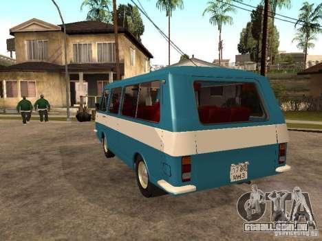 RAPH 2912 para GTA San Andreas traseira esquerda vista