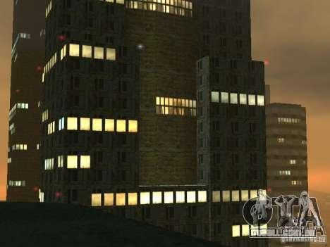 Novas texturas arranha-céus LS para GTA San Andreas por diante tela