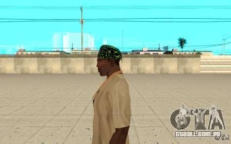 Bandana xbox para GTA San Andreas segunda tela