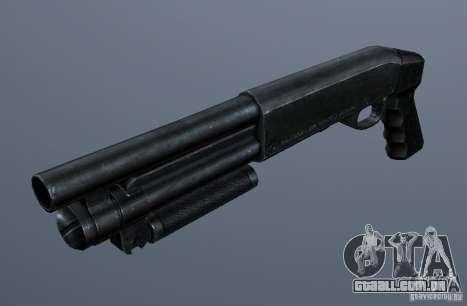 Serbu Super Shorty para GTA San Andreas segunda tela