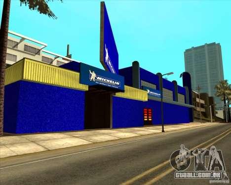Garage Michelin para GTA San Andreas segunda tela