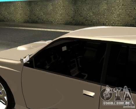 Azik Sultan para GTA San Andreas traseira esquerda vista