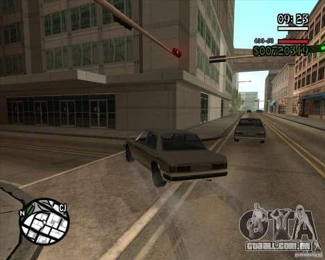Nova gestão pragmática para GTA San Andreas quinto tela
