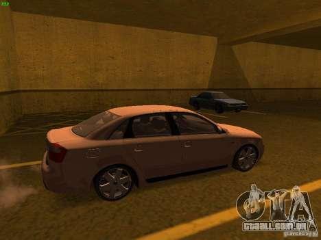 Audi S4 OEM para GTA San Andreas esquerda vista