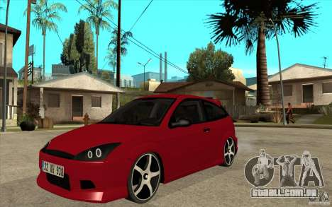 Ford Focus Coupe Tuning para GTA San Andreas