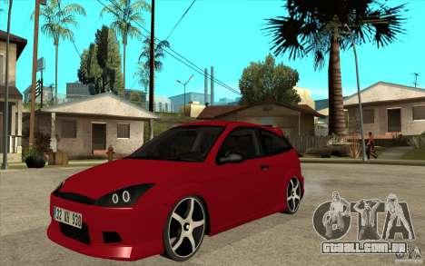 Ford Focus Coupe Tuning para GTA San Andreas