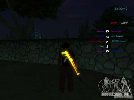 Novos skins La Coza Nostry para GTA: SA para GTA San Andreas sexta tela