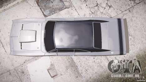 Dodge Charger RT 1969 tun v 1.1 baixo passeio para GTA 4 vista direita