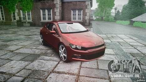 Volkswagen Scirocco 2.0 TSI para GTA 4 vista de volta