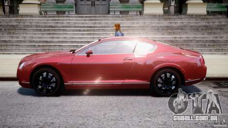 Bentley Continental GT 2004 para GTA 4 esquerda vista