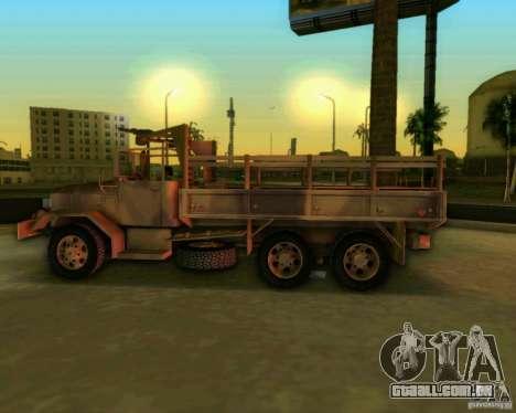 M352A para GTA Vice City vista traseira