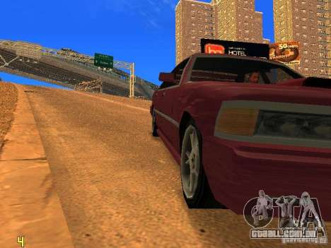 Sentrel Mini Tuning para GTA San Andreas vista direita