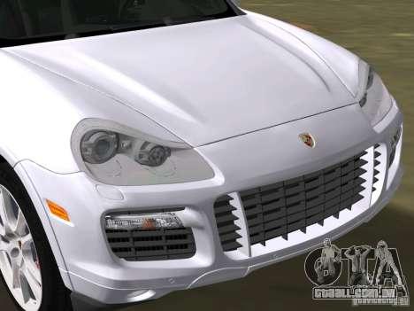 Porsche Cayenne Turbo S para GTA Vice City vista direita