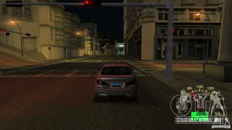 Velocímetro de Lada 2110 para GTA San Andreas segunda tela