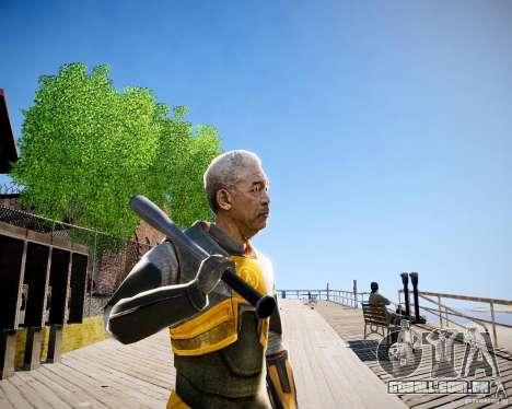 Morgan Freeman para GTA 4 por diante tela