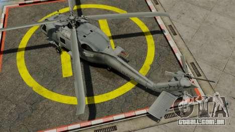 O helicóptero Sikorsky SH-60 Seahawk para GTA 4 vista direita