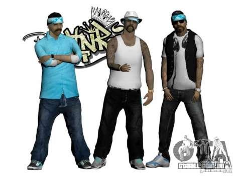 Skinpack Rifa Gang para GTA San Andreas