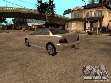 Chavos de Gta 4 para GTA San Andreas esquerda vista